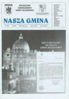 Nasza Gmina. Miesięcznik Samorządowy Gminy Wejherowo, 2004, styczeń, Nr 1 (92)