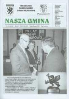 Nasza Gmina. Miesięcznik Samorządowy Gminy Wejherowo, 2004, lipiec/sierpień, Nr 7/8 (98/99)