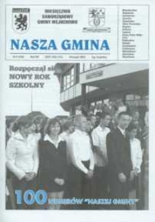 Nasza Gmina. Miesięcznik Samorządowy Gminy Wejherowo, 2004, wrzesień, Nr 9 (100)