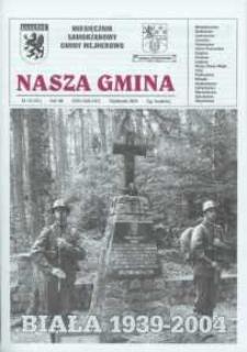 Nasza Gmina. Miesięcznik Samorządowy Gminy Wejherowo, 2004, październik, Nr 10 (101)