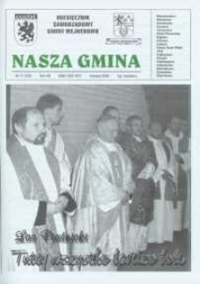 Nasza Gmina. Miesięcznik Samorządowy Gminy Wejherowo, 2004, listopad, Nr 11 (102)