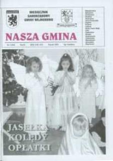 Nasza Gmina. Miesięcznik Samorządowy Gminy Wejherowo, 2005, styczeń, Nr 1 (104)