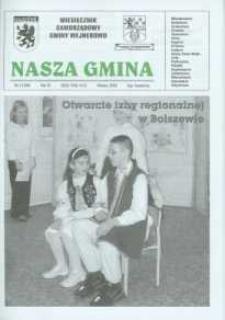 Nasza Gmina. Miesięcznik Samorządowy Gminy Wejherowo, 2005, marzec, Nr 3 (106)
