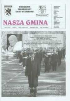 Nasza Gmina. Miesięcznik Samorządowy Gminy Wejherowo, 2005, kwiecień, Nr 4 (107)
