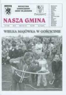 Nasza Gmina. Miesięcznik Samorządowy Gminy Wejherowo, 2005, maj, Nr 5 (108)