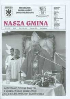 Nasza Gmina. Miesięcznik Samorządowy Gminy Wejherowo, 2005, czerwiec, Nr 6 (109)