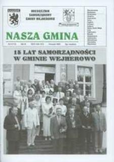 Nasza Gmina. Miesięcznik Samorządowy Gminy Wejherowo, 2005, wrzesień, Nr 9 (112)