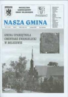 Nasza Gmina. Miesięcznik Samorządowy Gminy Wejherowo, 2005, listopad, Nr 11 (114)