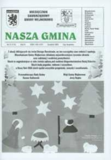 Nasza Gmina. Miesięcznik Samorządowy Gminy Wejherowo, 2005, grudzień, Nr 12 (115)