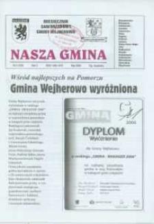 Nasza Gmina. Miesięcznik Samorządowy Gminy Wejherowo, 2006, maj, Nr 5 ( 120)