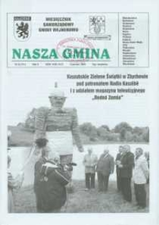 Nasza Gmina. Miesięcznik Samorządowy Gminy Wejherowo, 2006, czerwiec, Nr 6 (121)
