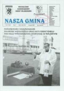 Nasza Gmina. Miesięcznik Samorządowy Gminy Wejherowo, 2006, listopad Nr 11 (126)