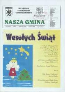 Nasza Gmina. Miesięcznik Samorządowy Gminy Wejherowo, 2006, grudzień, Nr 12 (127)