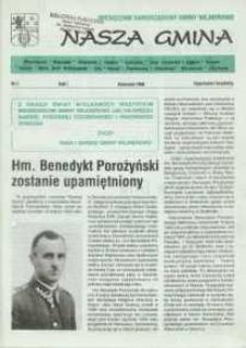 Nasza Gmina. Miesięcznik Samorządowy Gminy Wejherowo, 1996, kwiecień, Nr 2