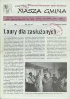 Nasza Gmina. Miesięcznik Samorządowy Gminy Wejherowo, 1996, maj, Nr 3