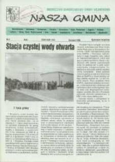 Nasza Gmina. Miesięcznik Samorządowy Gminy Wejherowo, 1996, sierpnień, Nr 6