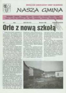 Nasza Gmina. Miesięcznik Samorządowy Gminy Wejherowo, 1996, wrzesień, Nr 7