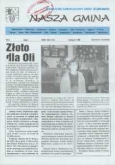 Nasza Gmina. Miesięcznik Samorządowy Gminy Wejherowo, 1996, listopad, Nr 9