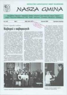 Nasza Gmina. Miesięcznik Samorządowy Gminy Wejherowo, 2000, kwiecień, Nr 4 (50)