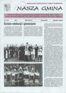 Nasza Gmina. Miesięcznik Samorządowy Gminy Wejherowo, 2000, listopad, Nr 11 (57)