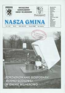 Nasza Gmina. Miesięcznik Samorządowy Gminy Wejherowo, 2007, styczeń, Nr 1 (128)