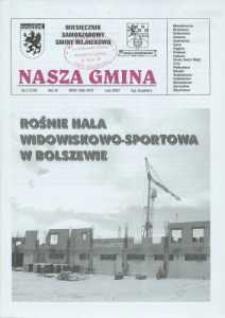 Nasza Gmina. Miesięcznik Samorządowy Gminy Wejherowo, 2007, luty, Nr 2 (129)