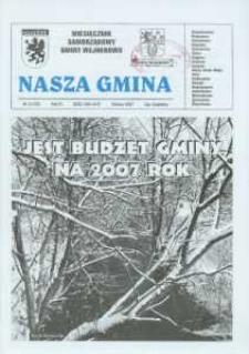 Nasza Gmina. Miesięcznik Samorządowy Gminy Wejherowo, 2007, marzec, Nr 3 (130)