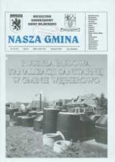 Nasza Gmina. Miesięcznik Samorządowy Gminy Wejherowo, 2007, kwiecień, Nr 4 (131)
