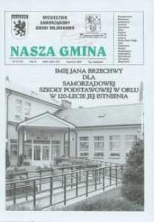 Nasza Gmina. Miesięcznik Samorządowy Gminy Wejherowo, 2007, czrwiec, Nr 6 (133)