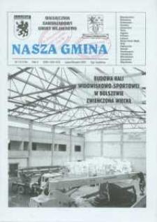 Nasza Gmina. Miesięcznik Samorządowy Gminy Wejherowo, 2007, lipiec/sierpień, Nr 7/8 (134)