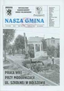 Nasza Gmina. Miesięcznik Samorządowy Gminy Wejherowo, 2007, październik, Nr 10 (136)