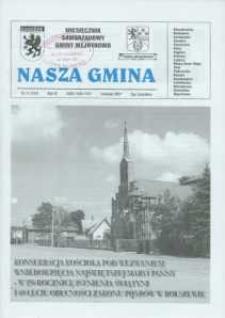 Nasza Gmina. Miesięcznik Samorządowy Gminy Wejherowo, 2007, listopad, Nr 11 (137)