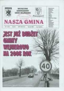 Nasza Gmina. Miesięcznik Samorządowy Gminy Wejherowo, 2008, styczeń, Nr 1 (139)
