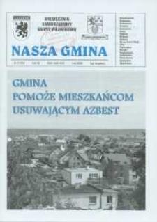 Nasza Gmina. Miesięcznik Samorządowy Gminy Wejherowo, 2008, luty, Nr 2 (140)
