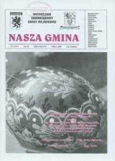 Nasza Gmina. Miesięcznik Samorządowy Gminy Wejherowo, 2008, marzec, Nr 3 (141)
