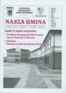 Nasza Gmina. Miesięcznik Samorządowy Gminy Wejherowo, 2008, kwiecień, Nr 4 (142)