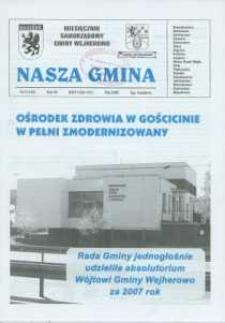 Nasza Gmina. Miesięcznik Samorządowy Gminy Wejherowo, 2008, maj, Nr 5 (143)