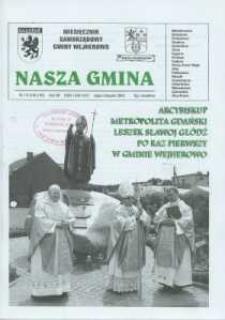 Nasza Gmina. Miesięcznik Samorządowy Gminy Wejherowo, 2008, lipiec/sierpień, Nr 7/8 (145/145)