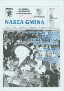 Nasza Gmina. Miesięcznik Samorządowy Gminy Wejherowo, 2008, wrzesień, Nr 9 (147)