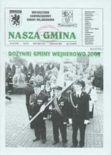 Nasza Gmina. Miesięcznik Samorządowy Gminy Wejherowo, 2008, październik, Nr 10 (148)