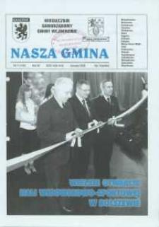Nasza Gmina. Miesięcznik Samorządowy Gminy Wejherowo, 2008, listopad, Nr 11 (149)