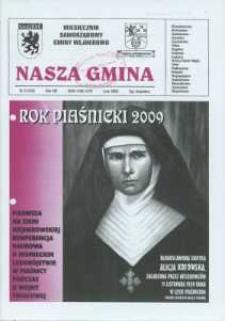 Nasza Gmina. Miesięcznik Samorządowy Gminy Wejherowo, 2009, luty, Nr 2 (152)