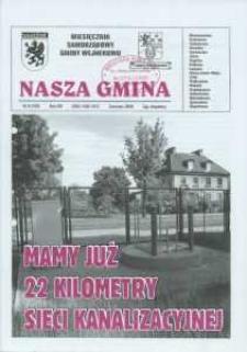 Nasza Gmina. Miesięcznik Samorządowy Gminy Wejherowo, 2009, czerwiec, Nr 6 (156)