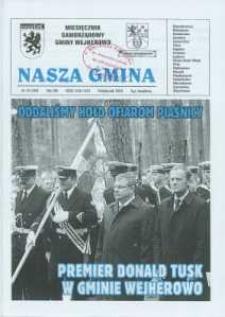Nasza Gmina. Miesięcznik Samorządowy Gminy Wejherowo, 2009, październik, Nr 10 (160)