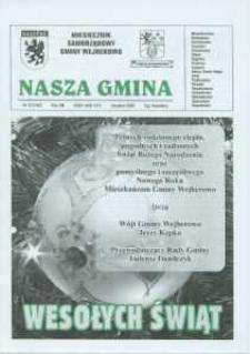 Nasza Gmina. Miesięcznik Samorządowy Gminy Wejherowo, 2009, grudzień, Nr 12 (162)