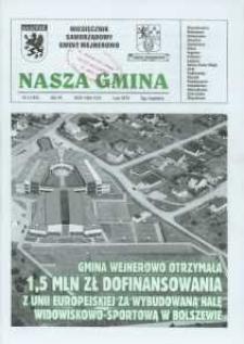 Nasza Gmina. Miesięcznik Samorządowy Gminy Wejherowo, 2010, luty, Nr 2 (164)