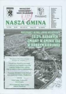 Nasza Gmina. Miesięcznik Samorządowy Gminy Wejherowo, 2010, marzec, Nr 3, (165)