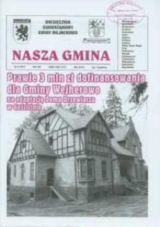 Nasza Gmina. Miesięcznik Samorządowy Gminy Wejherowo, 2010, maj, Nr 5 (167)