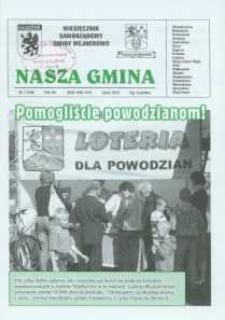 Nasza Gmina. Miesięcznik Samorządowy Gminy Wejherowo, 2010, lipiec, Nr 7 (169)