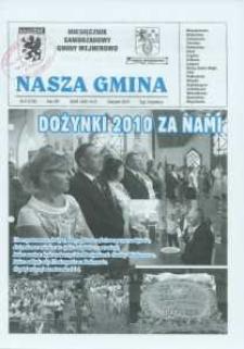 Nasza Gmina. Miesięcznik Samorządowy Gminy Wejherowo, 2010, sierpień, Nr 8 (170)